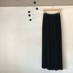 Edgy BCBG Maxazria pleated skirt